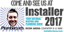 Come and see Plumberparts at Installer 2017