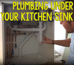 Plumbing Under Your Kitchen Sink