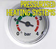 Pressurised Heating Systems