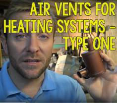 Air Vents for Heating Systems - Type 1