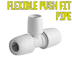Flexible Push Fit Pipe