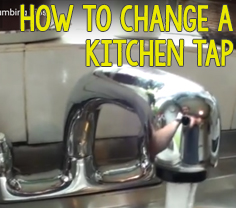 How To Change A Kitchen Tap